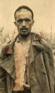 Vitomir Kovačević na Krfu, nakon prelaska preko Albanije
