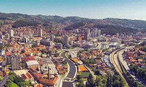 Užice (snimak uz pomoć drona, Flymedia.rs)