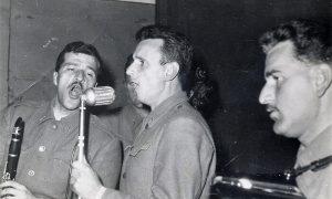 Boki Milošević levo, a Brole desno
