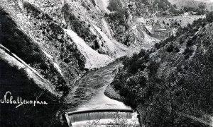Užička hidrocentrala br. 3 (fotografija Ilije Lazića iz 1932.)