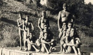 """Plivački klub """"Sloboda"""" 1956. godine"""