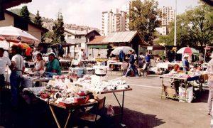 Buvlja pijaca na Međaju 1994.