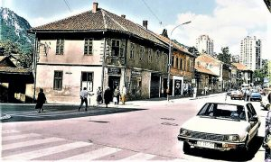 Raskrsnica kod Zore i Progresa 1996.