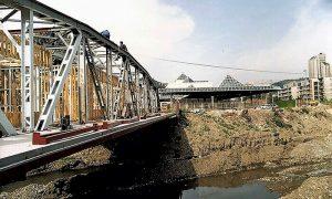 Izgradnja na mostu 1993/4