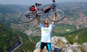 Planinar, fotograf, biciklista i veliki ljubitelj prirode, Milija Dikić