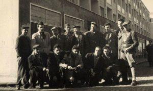 """Ekipa građevinaca na kraju izgradnje Bloka """"C"""""""