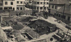 Izgradnja zgrade na Megdanu