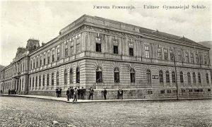 Užička gimnazija, verovatno oko 1893.