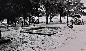 Izgradnja fontane u Parčiću krajem šezdesetih
