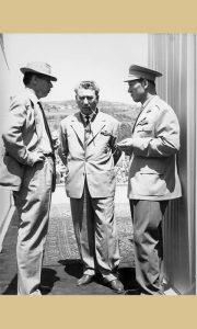 Ranković i Krcun za vreme Titovog govora (fotografija Ilije Lazića)