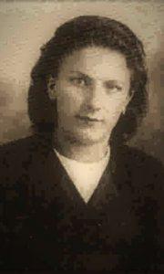Dana Milosavljević u vreme kada se priključila NOB-u
