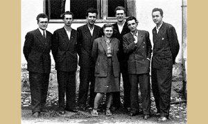 Članovi Narodnog odbora, Baja Vidić drugi s desna