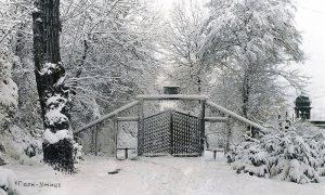 Nekadašnji izgled ulaza u Veliki park