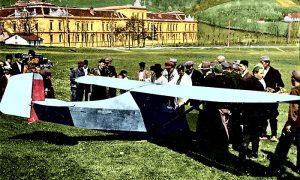 Umesto konjičkih trka, ovaj put užička jedrilica (obojio Z. Domanović)