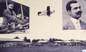 Prvi pilot Mihailo Petrović (preuzeto sa Vikipedije, Muzej jugoslovenske avijacije)