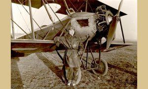 Prva žena pilot Danica Tomić (slika iz Istorijskog arhiva Beograda, preuzeto sa Vikipedije)