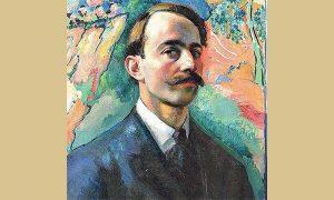 Branko Popović, autoportret