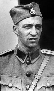 Henrik Lautner - Miloš Vojinović kao oficir u Srpskom dobrovoljačkom korpusu
