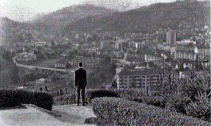 """Poslenji kadar filma """"Prvi građanin male varoši"""""""