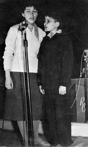 Đorđe i Ružica Vasić 1959. u Domu armije