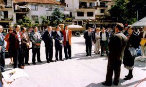 Otvaranje obnovljene deonice za Jelovu Goru 1996.