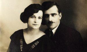Milić Gluščević sa ženom Ružicom