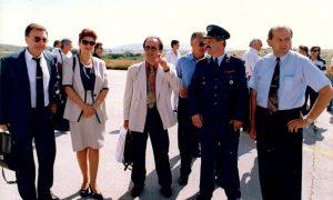 Atmosfera pred let Jatovog čarter aviona, jul 1995.
