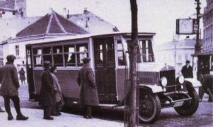 Prema savremenicima ovako je izgledao prvi užički autobus