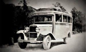 Jedan od prvih autobusa kojem je ruta napisana na njemu