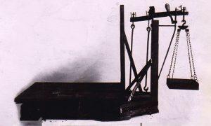 Vaga koju je proizvodila Milenkova radionica