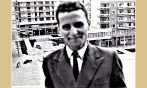 Rile Bogdanović 1966. na Trgu
