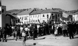 Miting na Trgu 1950.