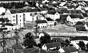 """Mesto zvano """"Tabana"""", gde je kasnije preseljen Zeleni pijac, gde je danas Hotel """"Zlatibor"""" - """"Sivonja"""""""