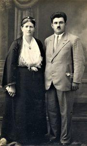 Prababa Draga sa sinom Slavkom Jovanovićem
