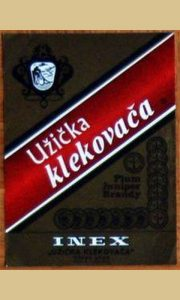 Etiketa nekad najpoznatije Ineks Užičke klekovače