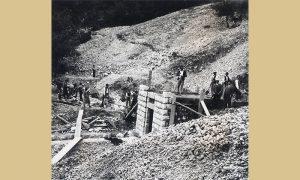 Gradnja prvog vodovoda u Vrelima