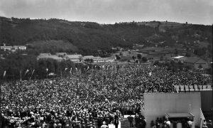 U Krčagovu je 1961. održan najveći miting u istoriji Užica