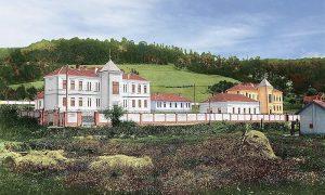 Tek izgrađena bolnica u Krčagovu (obojio Zoran Domanović)