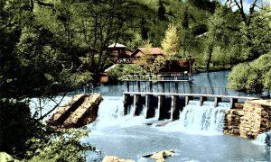 Kafana, jezerce, brana za hidrocentralu