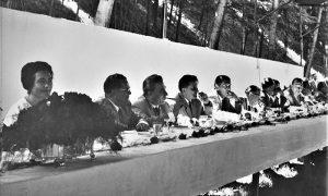 Svečani ručak u Velikom parku, Jovanka i Tito sa najznačajnim gostima
