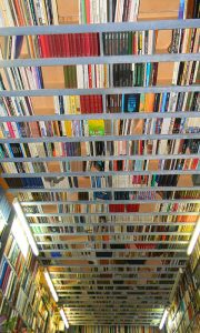 Knjige i na plafonu