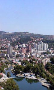 """Soliteri su pregradili Užice, dominira centralna kula bloka """"Zlatibor"""""""