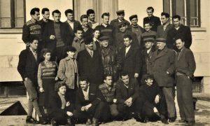 Kolektiv GP Zlatibor, u sredini u kožnom mantilu Jurije Drizo