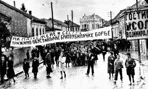 Protesti u Čačku žena protiv bratoubilačke borbe