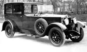 Fiat 512 tridesetih godina 20. veka