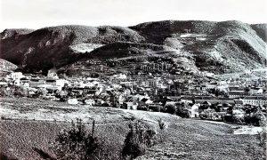 Pogled sa stene na Pori na Staro Užice