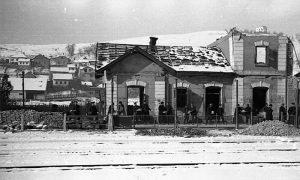 Srušena železnička stanica u Begluku