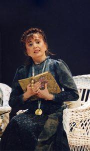 """Tannja u ulozi Aneške u operi """"Dve udovice"""" B.Smetane"""