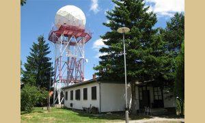Radarski centar iznad Užica