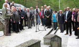 Pomen i polaganje venaca 15. aprila 2017.